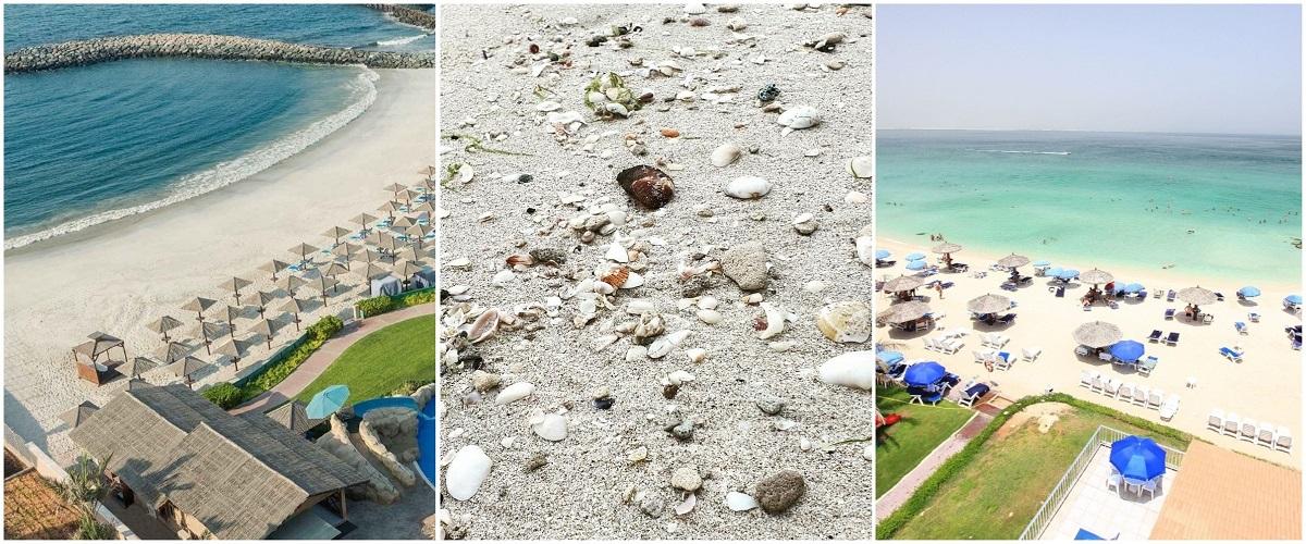 Идеальные пляжи Шарджи.