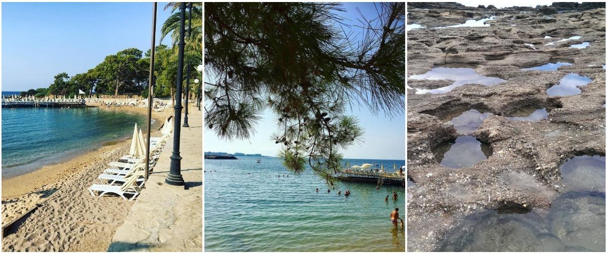 Пляж в бухте у Alara Park 5*