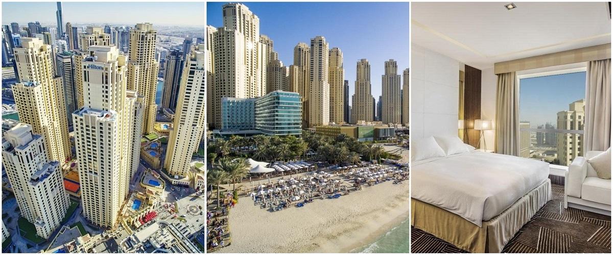 Hilton Dubai The Walk 4*